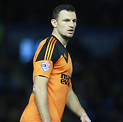 Ipswich Town defender Tommy Smith during the Sky Bet Championship match between Brighton and Hove Albion and Ipswich Town at the American Express Community Stadium, Brighton and Hove, England on 29 December 2015. Photo by Bennett Dean.