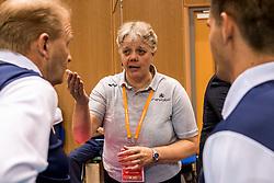 20-05-2018 NED: Netherlands - Slovenia, Doetinchem<br /> First match Golden European League / Crew organisation
