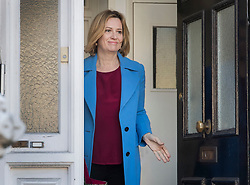 © Licensed to London News Pictures. 01/05/2018. London, UK. Former home secretary Amber Rudd leaves her house. Miss Rudd resigned her cabinet position on Sunday night and was replaced by Savid Javid. Photo credit: Peter Macdiarmid/LNP