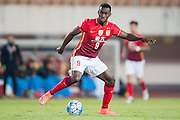 GUANGZHOU, CHINA - FEBRUARY 24:  Jackson Martinez of Guangzhou Evergrande FC in action during the Guangzhou Evergrande FC v Pohang Steelers match as part of the AFC Champions League 2016 at Guangzhou Tianhe Sport Center on February 24, 2016 in Guangzhou, China.  (Photo by Aitor Alcalde Colomer/Getty Images)