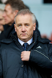 LIVERPOOL, ENGLAND - Saturday, February 23, 2008: Liverpool's Chief-Executive Rick Parry during the Premiership match at Anfield. (Photo by David Rawcliffe/Propaganda)