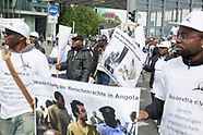 Angola-GDR contract worker protest