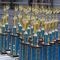 Many awards and trophies were given out during Saturday's marching band competition at Tupelo High School