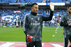 December 6, 2018 - Madrid, Madrid, Spain - Keylor Navas of Real Madrid in action during the King Throphy Spanish Championship,  football match between Real Madrid and Melilla on December 06, 2018 at Santiago Bernabeu stadium  in Madrid, Spain. (Credit Image: © AFP7 via ZUMA Wire)