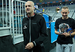 Jure Zdovc, head coach of Slovenia during practice session of Team Slovenia at Day 3 in Group C of FIBA Europe Eurobasket 2015, on September 7, 2015, in Arena Zagreb, Croatia. Photo by Vid Ponikvar / Sportida