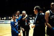 Europei Francia 1983 - Nantes: sandro gamba, galleani, brunamonti