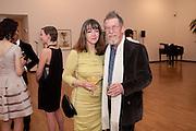 ANN REES MEYERS; JOHN HURT, Royal Academy Schools Annual dinner and Auction 2012. Royal Academy. Burlington Gdns. London. 20 March 2012.