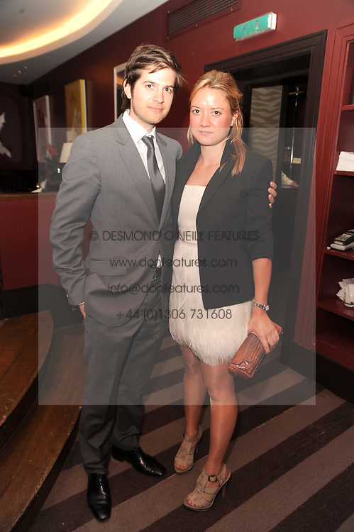 A party to promote the exclusive Puntacana Resort & Club - the Caribbean's Premier Golf & Beach Resort Destination, was held at The Groucho Club, 45 Dean Street London on 12th May 2010.<br /> <br /> Picture shows:-JACK FREUD & LAUREN SCOTT