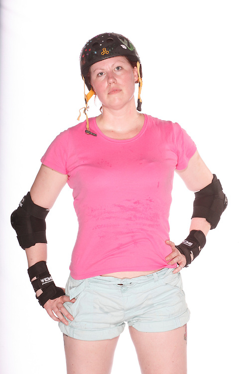 Stephanie Dempsey is a member of the Cherry City Derby Girls.