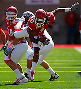 Utah wide receiver Shaky Smithson avoids a tackle against UNLV in the first quarter of an NCAA college football game at Rice-Eccles Stadium, Saturday, Sept. 11, 2010, in Salt Lake City, Utah.  (AP Photo/Colin E. Braley)