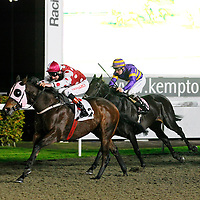 Forest Edge and Adam Kirby winning the 7.00 race