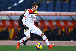 February 11, 2018 - Rome, Italy - during the serie A match between AS Roma and Benevento Calcio at Stadio Olimpico on February 11, 2018 in Rome, Italy. (Credit Image: © Matteo Ciambelli/NurPhoto via ZUMA Press)