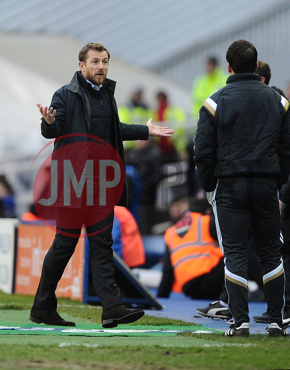 Birmingham City Manager, Gary Rowett   - Photo mandatory by-line: Joe Meredith/JMP - Mobile: 07966 386802 - 28/02/2015 - SPORT - Football - Birmingham - ST Andrews Stadium - Birmingham City v Brentford - Sky Bet Championship