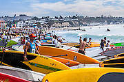 "Rainbow Sandals Gerry Lopez ""Battle of the Paddle"" Doheny State Beach, Dana Point"