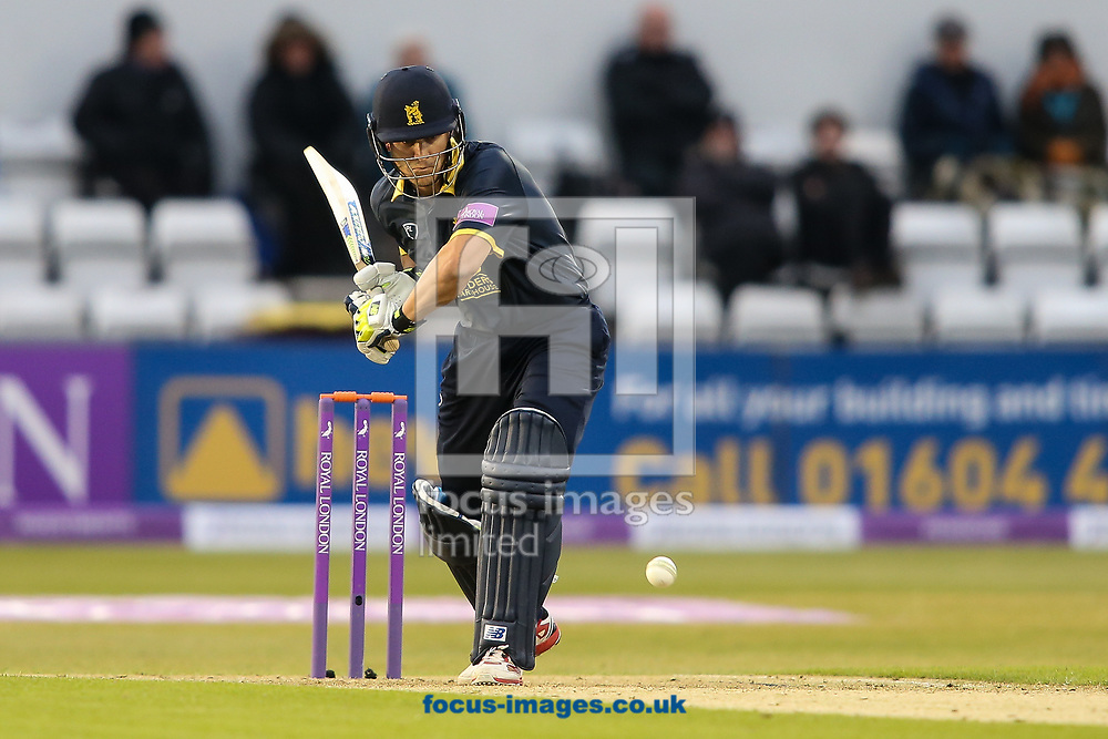 Sam Hain of Warwickshire CCC during the Royal London One Day Cup match at the County Ground, Northampton<br /> <br /> Picture by Andy Kearns/Focus Images Ltd 0781 864 4264<br /> 27/04/2017