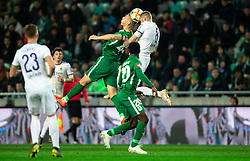 Rok Kidric of Olimpija vs Alexandru Cretu during Football match between NK Olimpija and NK Maribor in 23rd Round of Prva liga Telekom Slovenije 2018/19 on March 16, 2019, in SRC Stozice, Ljubljana, Slovenia. Photo by Vid Ponikvar / Sportida