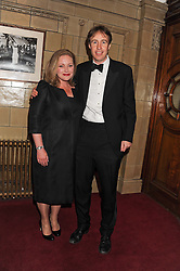 TOM & ALI MOGFORD his family ownes the Browns group of Restaurants at the Butterfly Ball in aid of the charity SANDS held at the Porchester Hall, Queensway, London W2 on 19th April 2012.