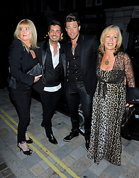 Duncan James from the boyband Blue at The Chiltern Firehouse in London, UK. 31/05/2014<br />BYLINE MUST READ : GOTCHAIMAGES.COM<br /><br />Copyright by © Gotcha Images Ltd. All rights reserved.<br />Usage of this image is conditional upon the acceptance <br />of Gotcha Images Ltd, terms and conditions available at<br />www.gotchaimages.com