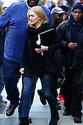 March 1, 2016 - New York City, NY, USA - <br /> <br /> Actress Kate Winslet was on the set of the new movie 'Collateral Beauty' on March 1 2016 in New York City <br /> ©Exclusivepix Media
