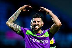 Eros Pisano of Bristol City celebrates victory over Blackburn Rovers - Mandatory by-line: Robbie Stephenson/JMP - 09/02/2019 - FOOTBALL - Ewood Park - Blackburn, England - Blackburn Rovers v Bristol City - Sky Bet Championship