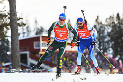 March 10, 2019 - –Stersund, Sweden - 190310 Erik Lesser of Germany and Benjamin Weger of Switzerland during the Men's 12,5 km Pursuit during the IBU World Championships Biathlon on March 10, 2019 in Östersund..Photo: Petter Arvidson / BILDBYRÃ…N / kod PA / 92255 (Credit Image: © Petter Arvidson/Bildbyran via ZUMA Press)