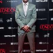 Leo Gregory Arrivers at Once Upon a Time in London - London premiere of the rise and fall of a nationwide criminal empire that paved the way for notorious London gangsters the Kray Twins and the Richardsons at The Troxy 490 Commercial Road, on 15 April 2019, London, UK.