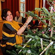 NLD/Amsterdam/20111208- Sky Radio Christmas tree for Charity, Xandra Brood - Jansen