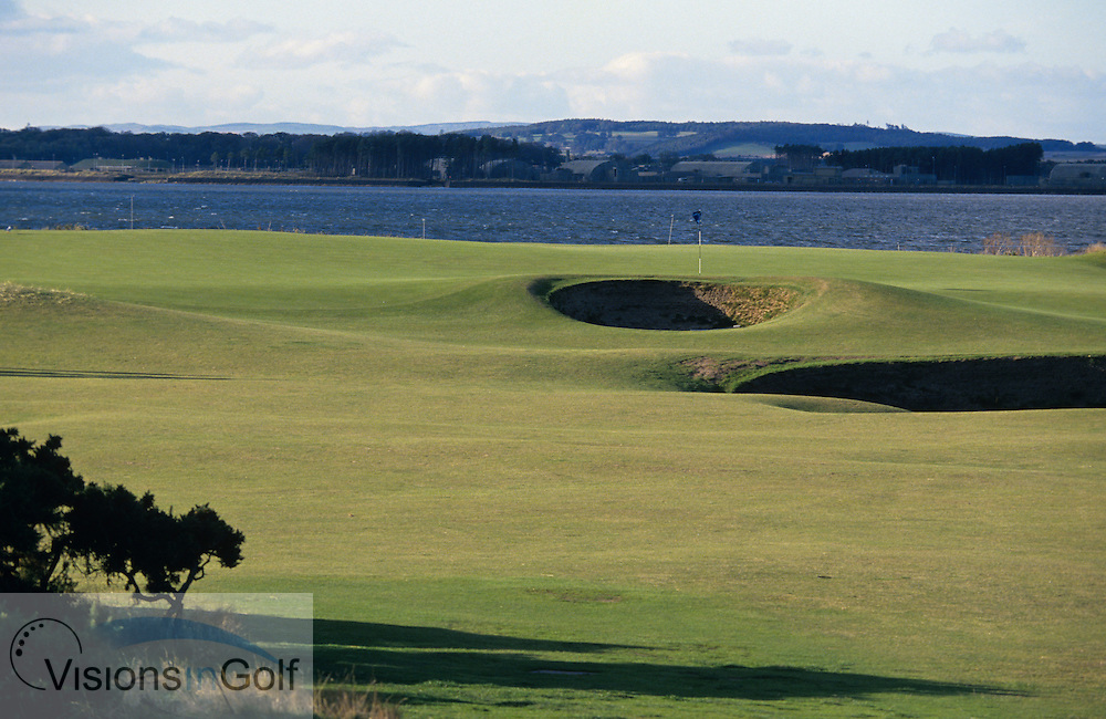 The 11th hole<br /> ST. ANDREWS OLD GC, Scotland, Uk, Photo Mark Newcombe