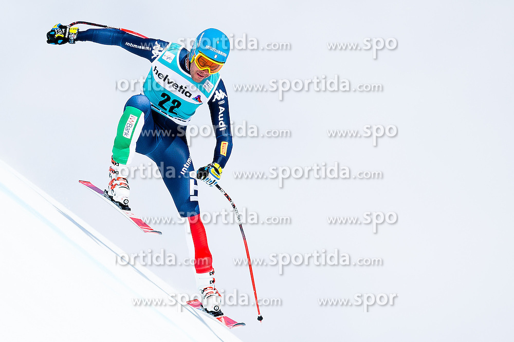 15.03.2016, Engiadina, St. Moritz, SUI, FIS Weltcup Ski Alpin, St. Moritz, Abfahrt, Herren, 1. Training, im Bild Christof Innerhofer (ITA) // competes in his 1st training run for the men's Downhill of St. Moritz Ski Alpine World Cup finals at the Engiadina in St. Moritz, Switzerland on 2016/03/15. EXPA Pictures &copy; 2016, PhotoCredit: EXPA/ Freshfocus/ Manuel Lopez<br /> <br /> *****ATTENTION - for AUT, SLO, CRO, SRB, BIH, MAZ only*****