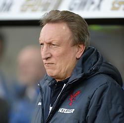 Crystal Palace Manager, Neil Warnock - Photo mandatory by-line: Alex James/JMP - Mobile: 07966 386802 - 29/11/2014 - Sport - Football - Swansea -  - Swansea v Crystal palace  - Barclays Premier League