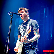 """A Day to Remember "" performing at the Don Haskins Center during  ""Blink 182 California Tour"""