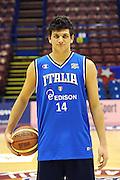 12-03-2011 MILANO ALL STAR GAME 2011 NAZIONALE ITALIANA<br /> IN FOTO: ALESSANDRO GENTILE<br /> FOTO CIAMILLO