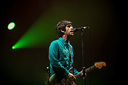"""© Licensed to London News Pictures . 02/12/2015 . Manchester , UK . JOHNNY MARR performs . """" Radio X Road Trip """" at the O2 Apollo in Manchester . Photo credit : Joel Goodman/LNP"""