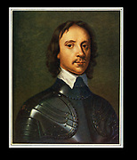 Oliver Cromwell (1599-1658) English soldier and statesman. Leading Parliamentarian in the English Civil Wars. Lord Protector of England (1653-1658). After a portrait attributed to Anthony Van Dyck (Vandyke)