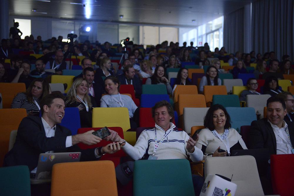 Brussels, Belgium - 1 December 2017<br /> Digital Tourism Think Tank (DTTT) Global conference.<br /> Photo: Ezequiel Scagnetti