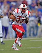 Louisville running back Kolby Smith in action against Kansas State at Bill Snyder Family Stadium in Manhattan, Kansas, September 23, 2006.  The 8th ranked Louisville Cardinals beat K-State 24-6.