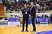 Massimo Romano, Kathrin Ress<br /> Italia Italy - Repubblica Ceca Czech Republic<br /> FIBA Women's Eurobasket 2021 Qualifiers<br /> FIP2019 Femminile Senior<br /> Cagliari, 14/11/2019<br /> Foto L.Canu / Ciamillo-Castoria