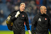 Aberdeen goakeeping coach, Gordon Marshall before the Ladbrokes Scottish Premiership match between Rangers and Aberdeen at Ibrox, Glasgow, Scotland on 5 December 2018.