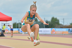 04/08/2017; Jordaan, Alissa, F47, AUS at 2017 World Para Athletics Junior Championships, Nottwil, Switzerland
