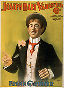 Joseph Hart Vaudeville Co. direct from Weber & Fields Music Hall, New York City. c1899. (poster) : lithograph Frank Gardiner.