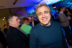 Kliton Bozgo during Traditional New Year party of of the Slovenian Football Association - NZS, on December 18, 2017 in Kongresni center, Brdo pri Kranju, Slovenia. Photo by Vid Ponikvar / Sportida