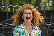 Alex Kingston on the Breaking Ground Garden - The Chelsea Flower Show organised by the Royal Horticultural Society with M&G as its MAIN sponsor for the final year.