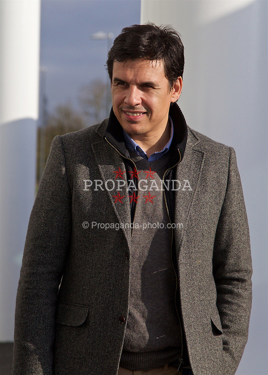 BORDEAUX, FRANCE - Tuesday, January 26, 2016: Wales' manager Chris Coleman at the Stade Matmut Atlantique, home of Girondins de Bordeaux, on an inspection visit ahead of the UEFA Euro 2016 Tournament. (Pic by David Rawcliffe/Propaganda)