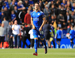 Christian Fuchs of Leicester City - Mandatory by-line: Paul Roberts/JMP - 09/09/2017 - FOOTBALL - King Power Stadium - Leicester, England - Leicester City v Chelsea - Premier League