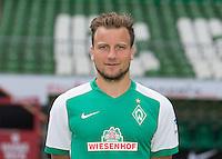 German Soccer Bundesliga 2015/16 - Photocall of Werder Bremen on 10 July 2015 in Bremen, Germany: Philipp Bargfrede