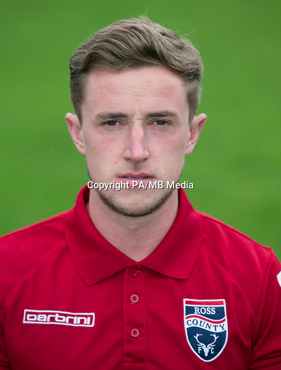 Ross County physio Crawford Quinn.