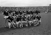 08/04/1962<br /> 04/08/1962<br /> 8 April 1962<br /> National Hurling League Final: Dublin v Galway at Croke Park, Dublin.<br /> Galway team.