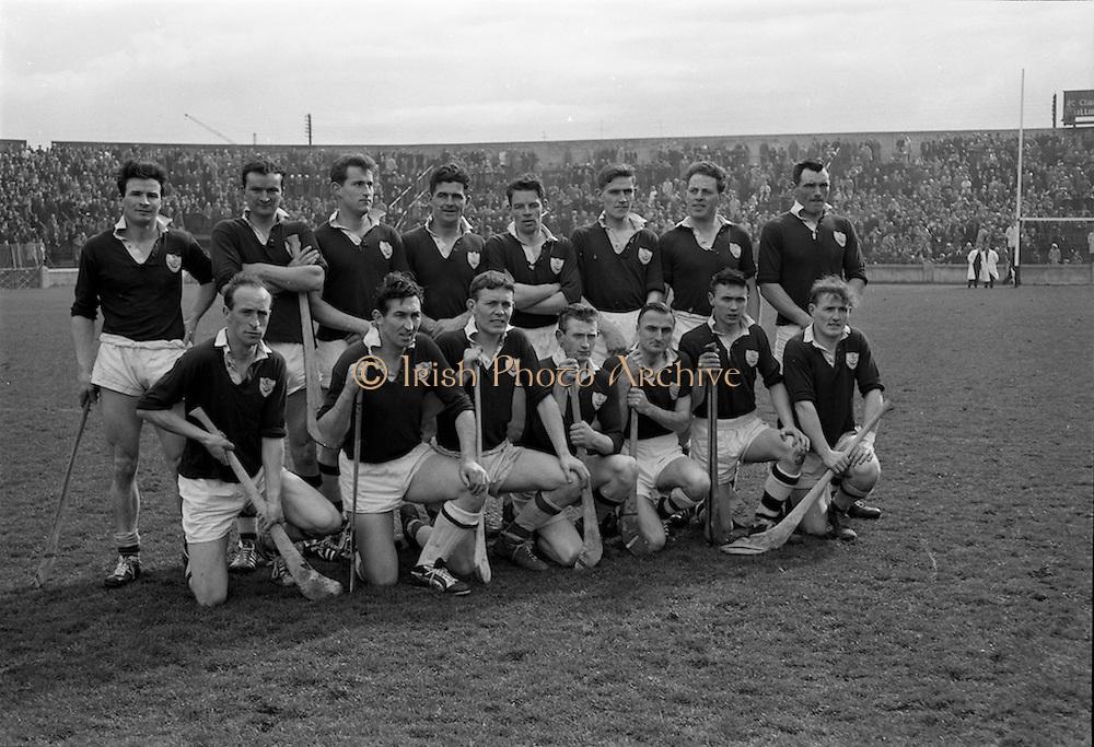 08/04/1962<br /> 04/08/1962<br /> 8 April 1962<br /> National Hurling League Final: Dublin v Galway at Croke Park, Dublin.<br /> Galway team.
