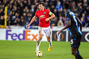 Manchester United defender Harry Maguire (5) during the Europa League match between Club Brugge and Manchester United at Jan Breydel Stadion, Brugge, Belguim on 20 February 2020.