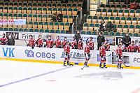 2020-01-19 | Umeå, Sweden:  AllEttan during the game  between Teg and Vallentuna at A3 Arena ( Photo by: Michael Lundström | Swe Press Photo )<br /> <br /> Keywords: Umeå, Hockey, AllEttan, A3 Arena, Teg, Vallentuna, mltv200119